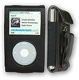 CrazyOnDigital Premium Leather Case Apple iPod Video/Classic Retail Package-Black Reviews