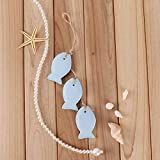 UNIQUEBELLA-3-Pieces-Nautical-Cute-Light-Blue-Fish-Hanging-Wood-Figures-Ocean-Beach-Wall-Art-HANGING-Ornaments-Home-Deck-Lake-Pool-Bed-Decoration-1142-Inches