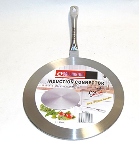 Induction Cooktop Converter Interface Disc 7.5 Stainless Steel