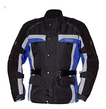 Wingx 700808XL wanero veste de moto taille xL (noir/bleu/argent