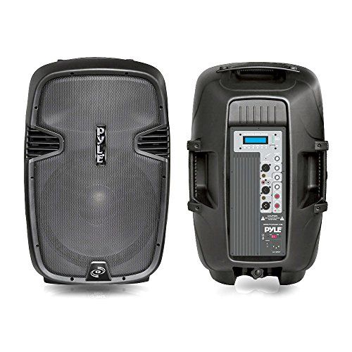 Pyle-Pro Pphp153Mu 15-Inch 1000 Watt Powered Two-Way Pa Speaker With Mp3/Usb/Sd Playback