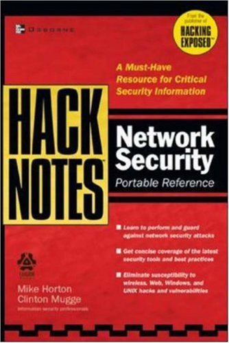 HackNotes Network Security Portable Reference