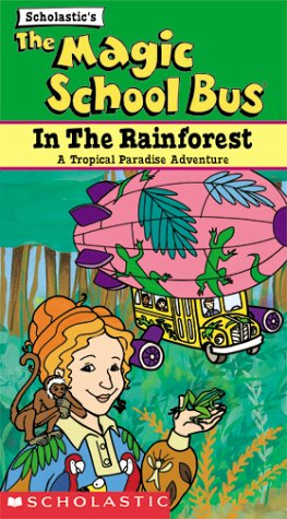 The Magic School Bus - In the Rainforest [VHS]