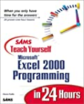 Sams Teach Yourself Excel 2000 Progra...