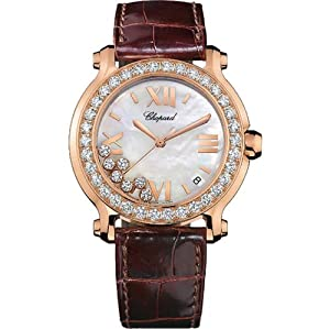 Chopard Women's 27/7473-20 Happy Sport Diamond Gold Watch by MUSIC TRADE