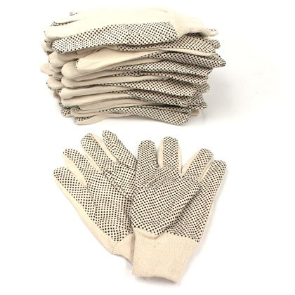 Buy PVC Dot Work Gloves (12 Pair) (Trademark Power Tools,Power & Hand Tools, Power Tools)