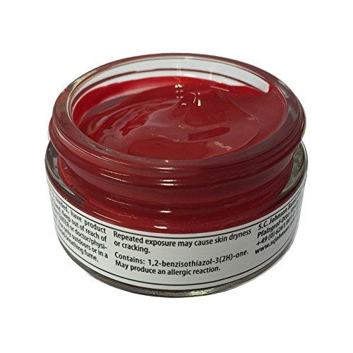 Woly  Woly Shoe Cream, Trattamento per scarpe  Unisex adulti, Rosso (Red (Signal Red)), M-L