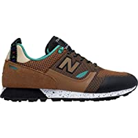 New Balance Men's Trailbuster Re-Engineered Textile Shoes (Tan)