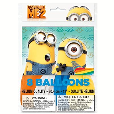 Add some fun to your cartoon decorations with our Despicable Me 12