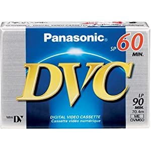 PANASONIC DVM-60EJ Mini Digital Videocassette