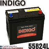 INDIGOバッテリー アコード(CL)【型式LA-CL9 2002年10月~2004年10月 K24Aエンジン AT 寒冷地車】