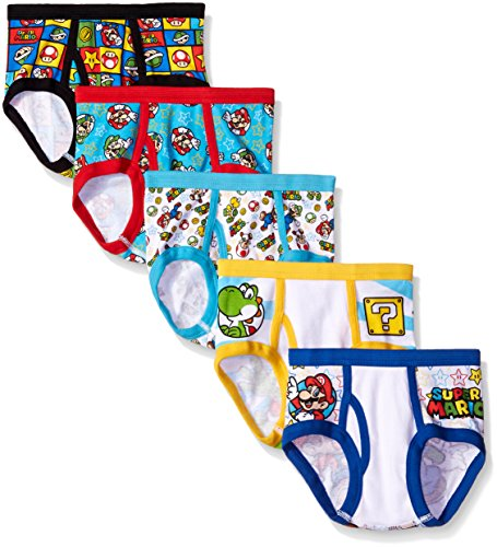 Handcraft Little Boys' Mario, Assorted, 6 (Pack of 5)