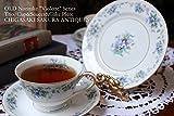 オールドノリタケ 1933年 スミレ スミレ柄 violette トリオ カップ&ソーサー&ケーキプレート