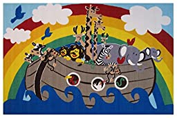 Fun Rugs Fun Time Animal Boat Novelty Rug, 39 x 58\