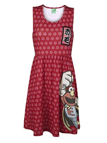Sesame Street -  Vestito  - Donna multicolore M