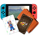 20 pcs NFC Tag Game Cards for Mario Kart 8 Deluxe Switch / Wii U with Card Holder