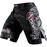 Hayabusa Official MMA Shiai Fight Shorts – Color: Black, Size: 32