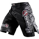 Hayabusa Official MMA Shiai Fight Shorts – Color: Black, Size: 32