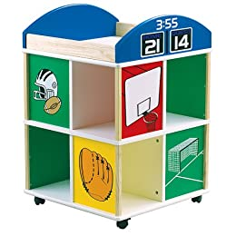 Guidecraft All Sports Storage Cube