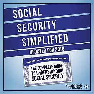 Social Security Simplified Audiobook