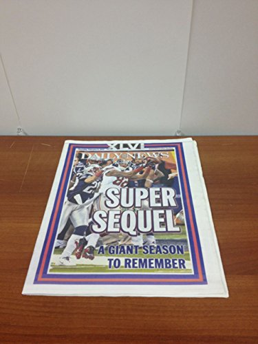 Daily News Super Sequel New York Giants