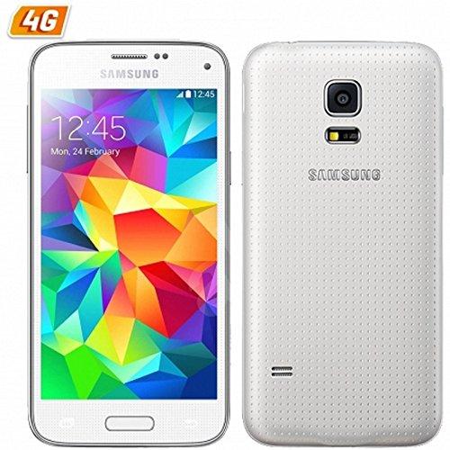 Samsung Galaxy S5 mini - SM-G800F - Smartphone debloque 4G (Ecran : 4,5 pouces 16 Go Simple SIM Android) Blanc