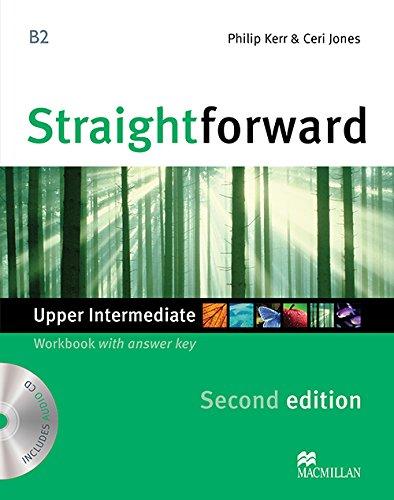 STRAIGHTFORWARD Up-Int 2nd ED Wb Pk +Key