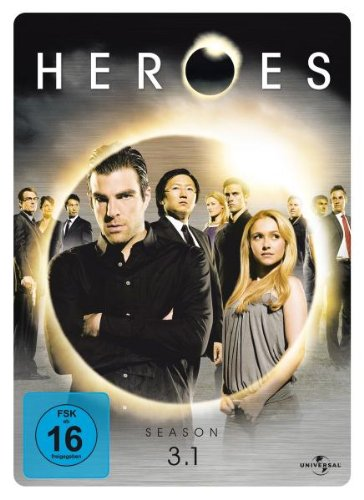 Heroes - Season 3.1 (3 DVDs, limited Steelbook)