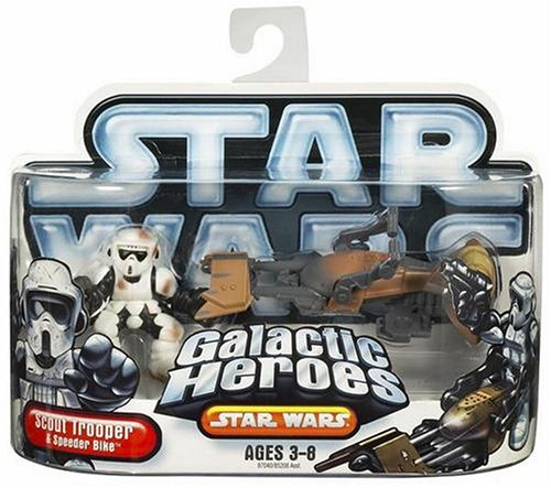 Star Wars Galactic Hero Scout Trooper with Speeder Bike