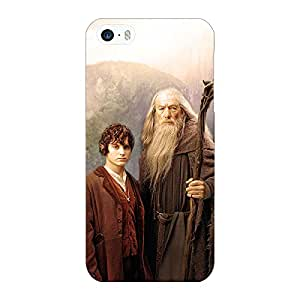 Jugaaduu LOTR Hobbit Gandalf Frodo Back Cover Case For Apple iPhone 5c