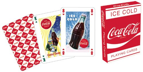 Coca Cola Red Playing Cards