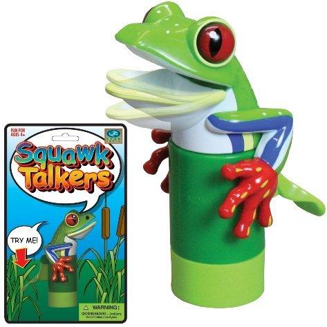 Squawk Talker Frog Noisemaker Novelty Toy - 1