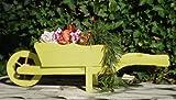 Brouette/brouette holzschubkarre-garten deko 110 cm bac à fleurs, pot avec bois décor