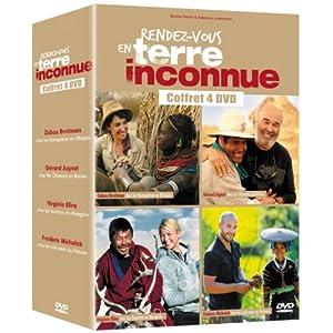 Rendez-vous en terre inconnue - Coffret 4 DVD - Zabou Breitman, Gérard Jug