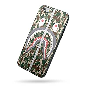 Amazon.com: Bape Shark Camo Army for Iphone Case and Samsung Case