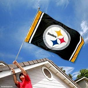 Pittsburgh Steelers Large NFL 3x5 Flag