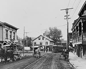 Amazon.com: early 1900s photo Horse-drawn wagons, stores