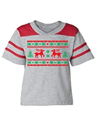 Festive Threads Christmas Football Assorted