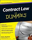 img - for Contract Law For Dummies by Scott J. Burnham (Dec 6 2011) book / textbook / text book