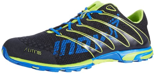 Inov-8 F-Lite™ 195 Cross-Training Shoe,Black/Lime/Azure,12 M Us