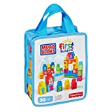 Mega Bloks First Builders 1-2-3 Count, 30-Piece (Bag)