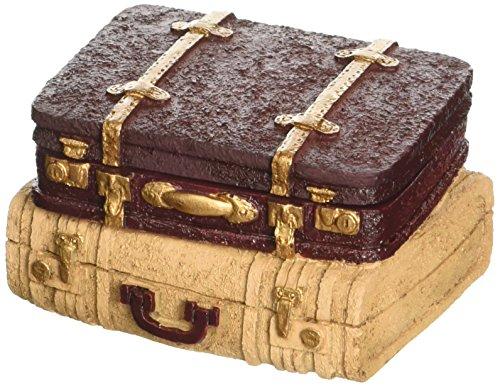 Fashioncraft Vintage Style Luggage Design Trinket Box