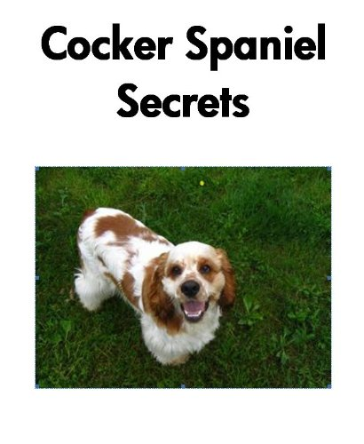Free Kindle Book : Cocker Spaniel Secrets: How to Raise Happy and Healthy Cocker Spaniels