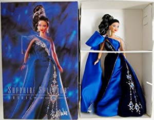 Sapphire Splendor Barbie: The Jewel Essence Collection by Bob Mackie
