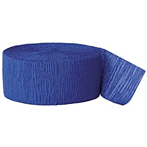 Party Streamer, 81-Feet, Royal Blue (Royal Blue, 2)