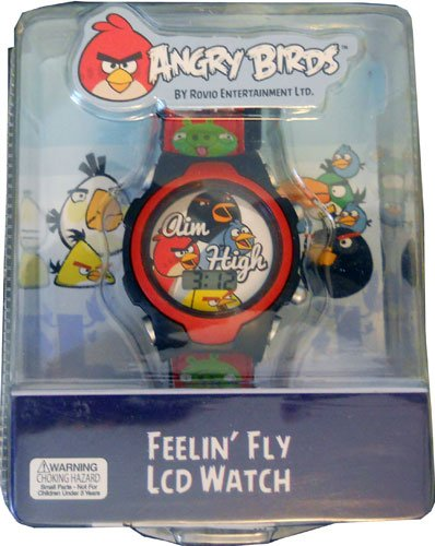 Angry Birds LCD with Velcro Strap Watch Collection