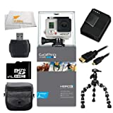 GoPro HERO3+: Silver Edition + 16GB Accessory Bundle