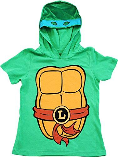 TMNT Teenage Mutant Ninja Turtles I Am Leo Costume Tee Hoodie (Toddler 4)
