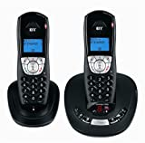 BT Synergy 4500 DECT Twin Digital Cordless Telephone with Answering Machine