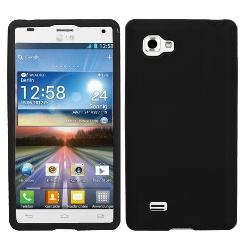 Asmyna LGP880CASKSO004 Slim Soft Durable Protective Case for LG Optimus 4X HD - 1 Pack - Retail Packaging - Black (Lg 4x Hd Case compare prices)
